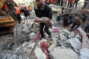 War-on-Gaza-Surgical-Strike-Precission-Bombing-targeting-homes.